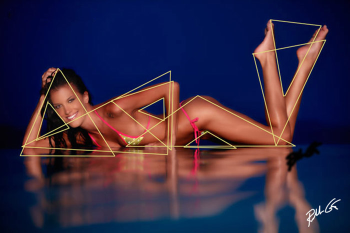 triangles photography model photo