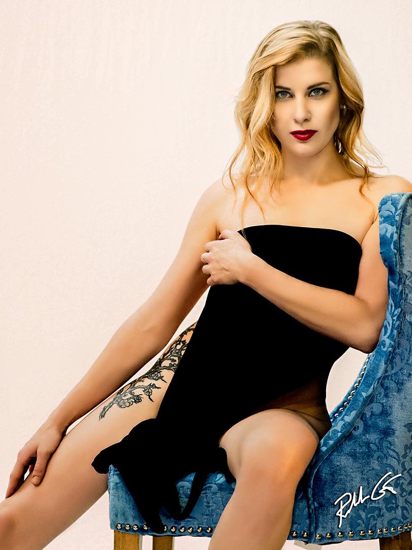 model boudoir photography