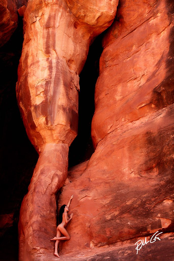 Moab Model Photography