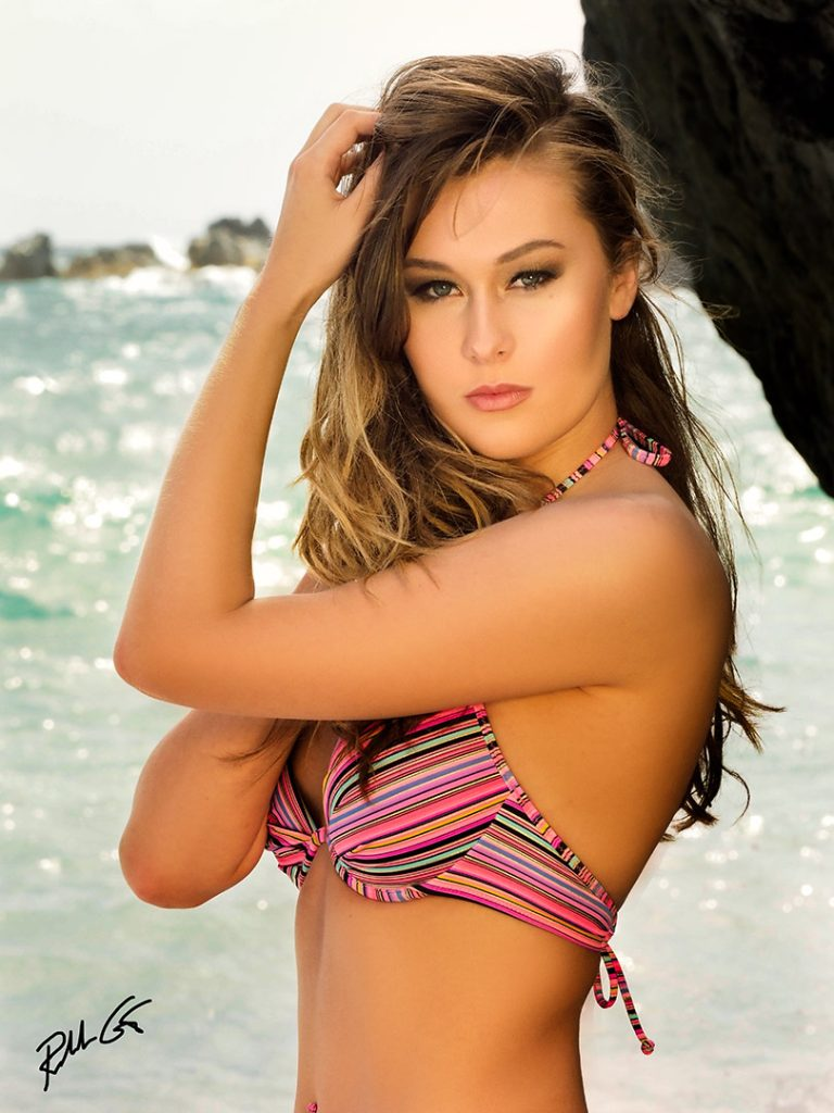 Model Reflector Photography Maui Hawaii