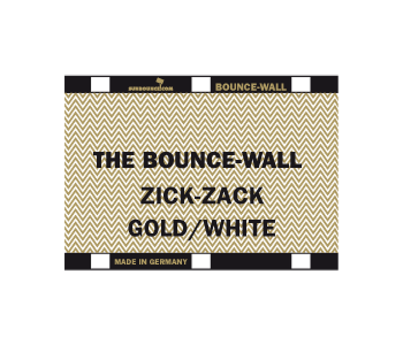 Sunbounce Bounce-Wall Flash Photography Reflectors Zig-Zag Gold White
