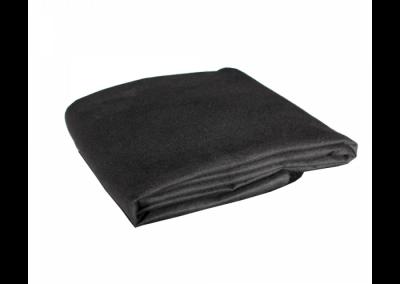 Cage Dirt Cloth Moltonduvetyne Black/Black