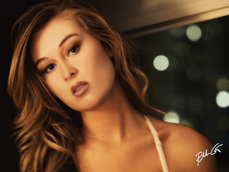 glamour model photo